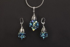 Bissi™ Fashion Jewelry Pendants and Matching Earrings