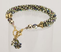 Olive Posh<br />Crystal Cascade Necklace<!--Dogs-->&lt;br /&gt;