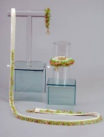 Glass Garden Collar<br />Collar, leash and bracelet sold separately
