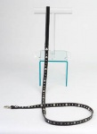 Spike Black Leash