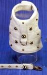Spike White Harness