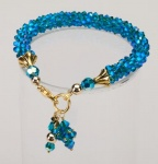 Azure<br />Crystal Cascade Necklace<!--Dogs-->