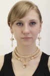 Golden Pearl Necklace<!--Women-->