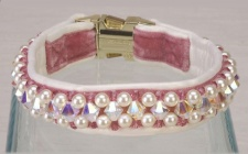 Diamond Rose Collar