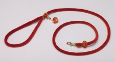 Sunset Velvet Cord Leash