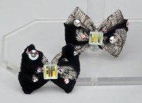 Baroque Brocade Hair Bow